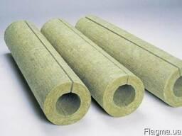 Скорлупа базальтовая для утепления труб (теплоизоляция)