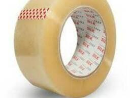 Скотч упаковочный 40мкн, 48мм*200м прозрачный/коричневый.