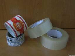 Скотч упаковочный 48х120, 48х200, 48х300 и др.