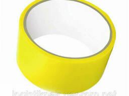Скотч упаковочный желтый