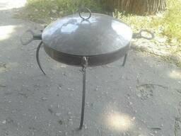 Сковорода – диск с крышкой для пикника Ø 40 см