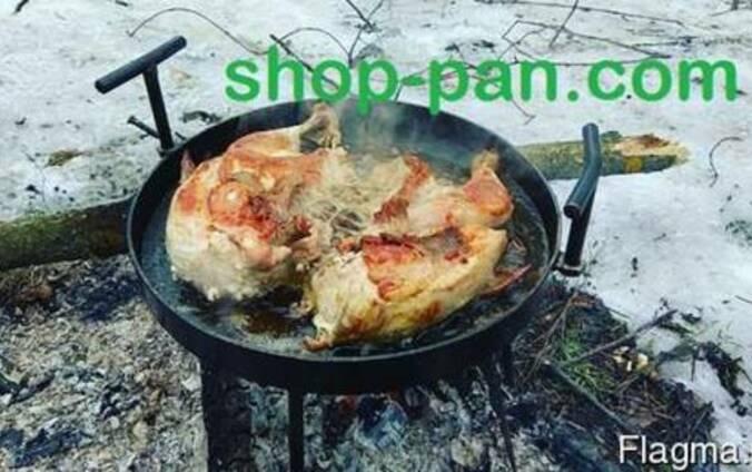 Сковорода из диска бороны съемные ручки и ножки