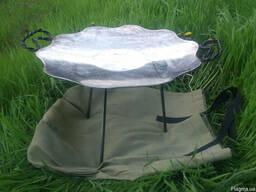 Сковорода для пикника из диска бороны, Барбекю, мангал,