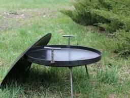 Сковородка 60 см с крышкой и чехлом Буковинка