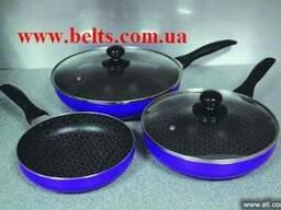 Сковородки с титановым покрытием Спайдер Пен Shider Pan