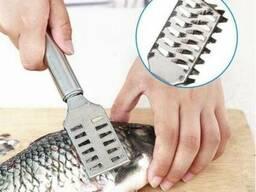 Скребок для чистки рыбы (нож для рыбы)