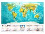 Скретч карта мира My Flags Map на украинском языке, оригинальный подарок - фото 3