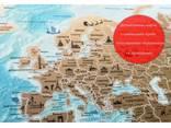 Скретч карта мира My Flags Map на украинском языке, оригинальный подарок - фото 5