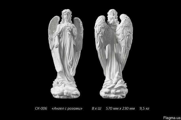 Скульптура ангела в полный рост