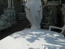 Скульптура Богородицы для сада, парка, памятника - фото 3