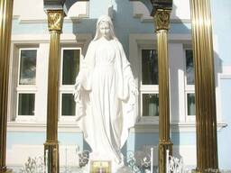 Скульптура Богородицы для сада, парка, памятника - фото 5
