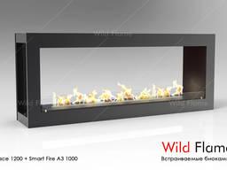 Биокамин очаг Space 1700 TM Wild Flame