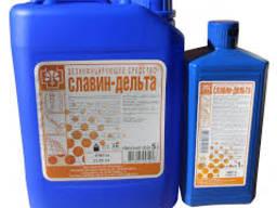 Славин-дельта дезинфекция инструментов поверхостей; ПСО 5л