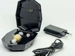 Слуховой аппарат внутриушной ZD-900D с зарядным устройством