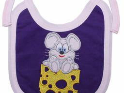 Слюнявчик Валери-Текс 0916-20-155-005 р. 36 Фиолетовый