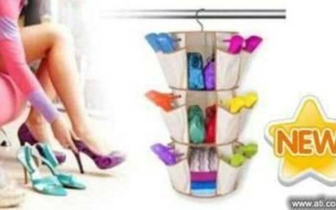 """ Smart Carousel "" Мини - шкафчик для обуви Смарт Карусель"