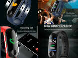 Смарт фитнес браслет трекер умные часы реплика Xiaomi Mi. .. - фото 6