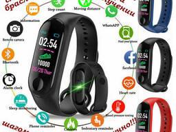 Смарт фитнес браслет трекер умные часы реплика Xiaomi Mi...