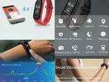 Смарт фитнес браслет трекер умные часы реплика Xiaomi Mi. .. - фото 7