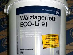 Смазка ступичная для подшипников BPW ECO-Li91 5кг BPW