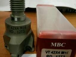 Сменная фрезерная головка с мех. креплением т/с пластин VT-4