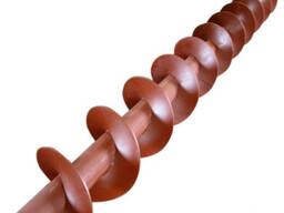 Сменная шнековая спираль с внутренним валом
