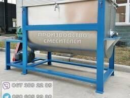 Смеситель ленточный из нержавеющей стали AISI-304, 150л