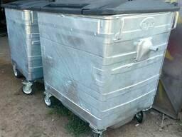 Taylor Оцинкованный мусорный контейнер 1,1 м3.