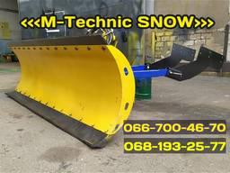Снегоуборочная лопата M-Technic (МТЗ, ЮМЗ, Т-40, Т-150)