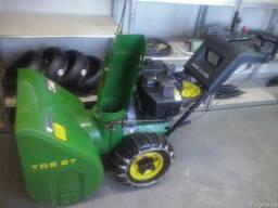 Снегоуборочный агрегат John Deere trs 27