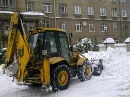 Снегоуборочные работы ручные и механизрованные