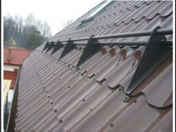 Снегозадержатель трубчатый для крыши