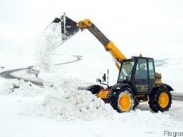 Снігоочисна техніка: розчищення доріг, прибирання снігу