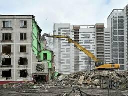 Снос демонтаж домов заводов дач сараев Борисполь область