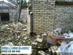 Снос дома киев, расчистка участка киев