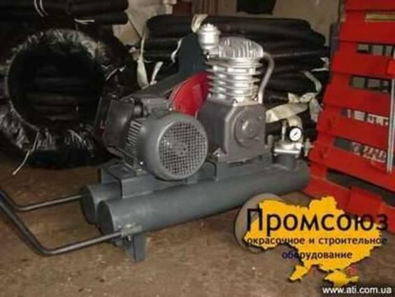 СО-7 Б - строительный компрессор