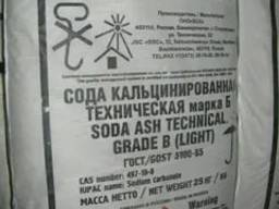 Сода кальцинированная марки Б. Россия