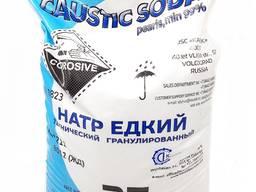 Сода каустическая гранулированная 99%, Россия, мешок 25 кг