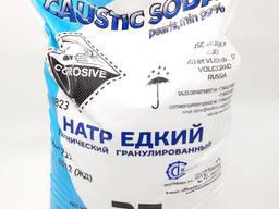Сода каустична 25 кг (Росія). Едкий Натр, Щелочь, NaOH