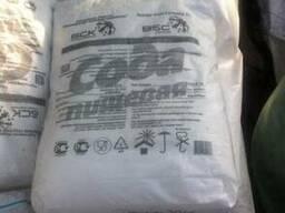 Сода пищевая (Бикарбонат натрия) мешки по 25 кг.
