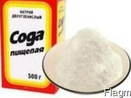 Сода пищевая, гидрокарбонат натрия, ОПТОМ