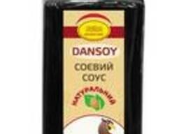 """Соевый соус """"DanSoy"""" с чесноком, стекло 220 мл"""
