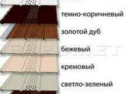 Софит цена киев, соффит потолочный сайдинг, софит монтаж
