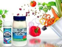 Соль Solena пищевая с калием, микроэлементами