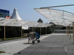 Солнцезащита, навесы от солнца, перголы в Крыму