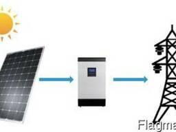 Солнечная электростанция для дома 15 кВт