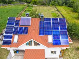 Солнечная сетевая электростанция мощностью 6КВт
