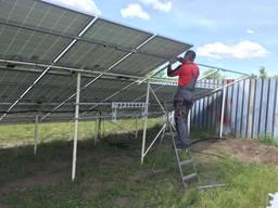 Солнечные панели, металлоконструкции. монтаж, установка