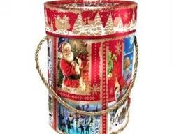 Сладкие Новогодние подарки «Тубус премiум» 1600г