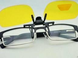 Сонцезахисні окуляри Night View Clip Ons (Найт Вью Клип Он